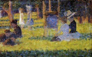 Study For A Sunday Afternoon On The Island Of La Grande Jatte 18