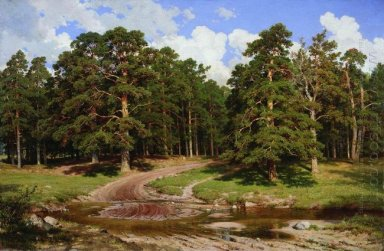 Pine Forest 1895