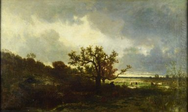 Landscape with Oaktree