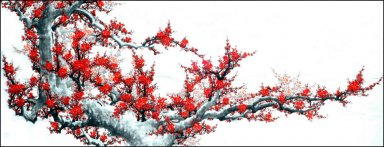 Plum Blossom(large) - Chinese Painting