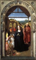 Nativity (Polyptych of the Virgin, the wing)