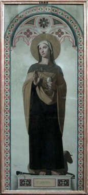 St Genevieve Patroness Of Paris