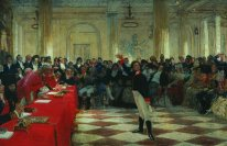 A Pushkin On The Act In The Lyceum On 8 Gen 1815 1911