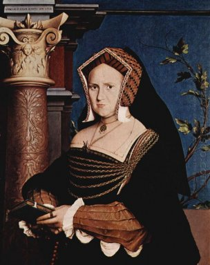 Portrait Of Mary Wotton Lady Guildenford 1527