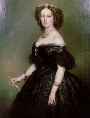 Portrait Of Queen Sophie Of Netherlands Born Sophie Of W Rttembe