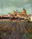 View Of Saintes Maries 1888