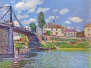bridge at villeneuve la garenne 1872