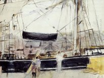 Boat On The Quay 1875