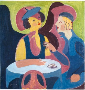 Two Women In A Cafe 1929