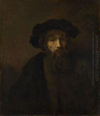 A Bearded Man In A Cap 1657