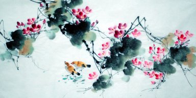 Lotus-Chinese Painting