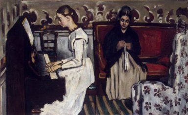 Young Girl At The Piano Overture To Tannhauser