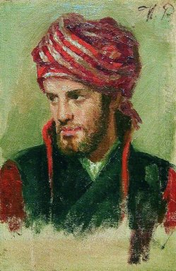 Portrait Of A Young Man In A Turban