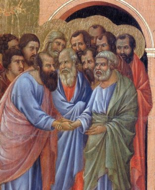 The Arrival Of The Apostles To The Virgin Fragment 1311