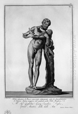 Silenus With Bacchus