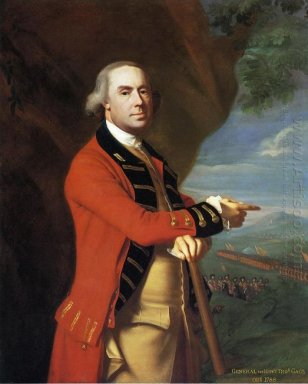 Portrait Of General Thomas Gage 1769
