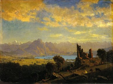 scene in the tyrol 1854