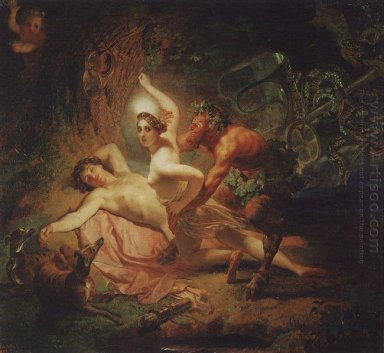 Diana Endymion And Satyr
