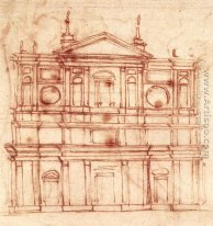 Project for the facade of San Lorenzo, Florence c. 1517
