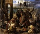 The Crusaders Entry Into Constantinople 12Th April 1204 1840 Oil