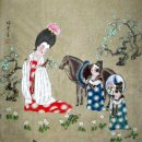 Ancient Girl-Gudai - Chinese Painting
