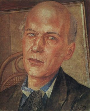 Portrait Of Andrei Bely 1932