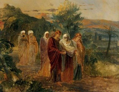 Returning From The Burial Of Christ