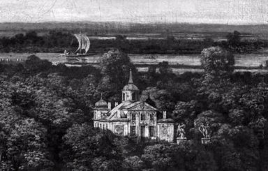 Palace On The Water In Warsaw 1775