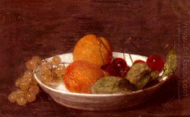 A Bowl Of Fruit 1870