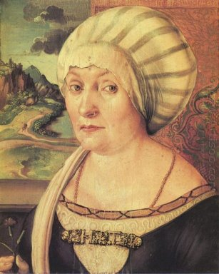 portrait of felicitas tucher 1499