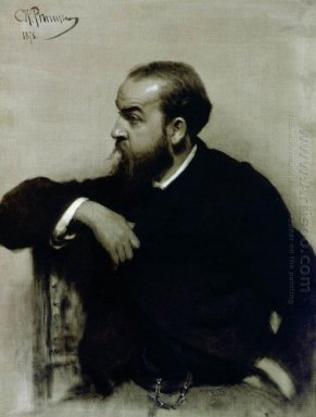 Portrait Of The Artist R S Levitsky 1878