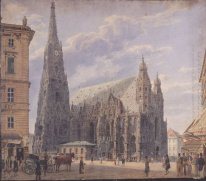 The St Stephen S Cathedral In Vienna 1831