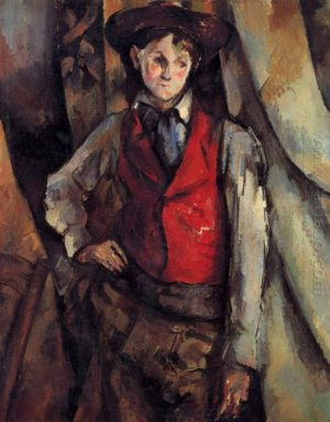 Boy In A Red Vest 1888