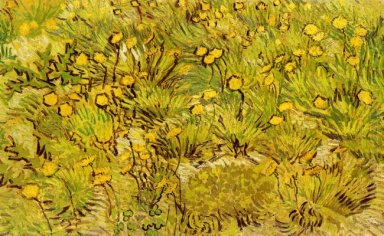 A Field Of Yellow Flowers 1889