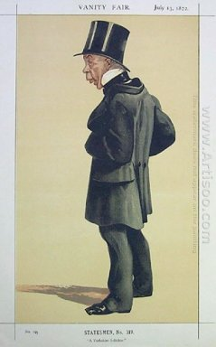 Caricature Of Mr George Leeman M P