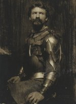 Self Portrait in Armor