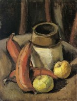 Still Life with Red Bananas