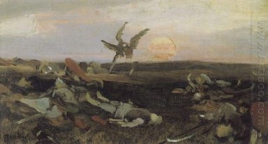 After The Carnage Igor Svyatoslavich With Polovtsy Sketch 1878