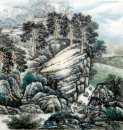 Village Countryside - Chinese Painting