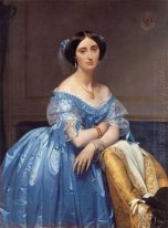 Portrait Of The Princesse De Broglie 1853
