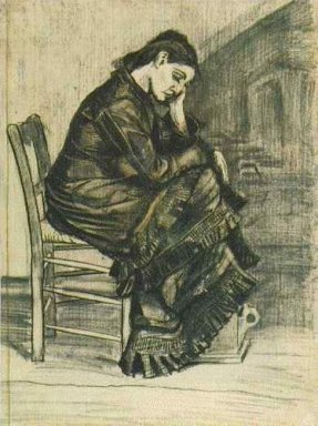 Bent Figure Of A Woman Sien 1882