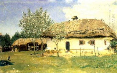 Ukrainian Peasant House 1880