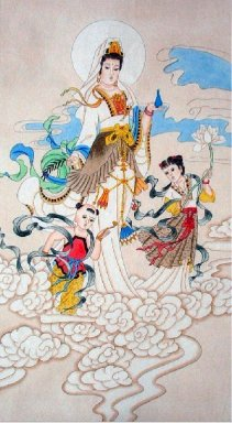 Guanyin - Chinese Painting