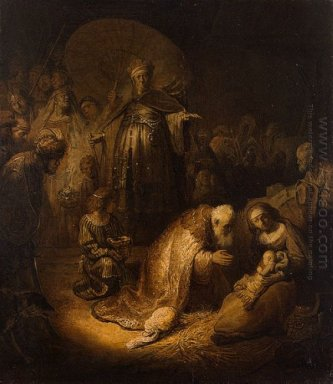 Adoration Of The Magi 1632