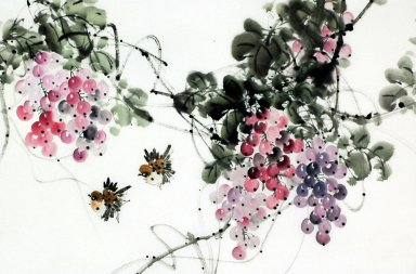 Grapes - Chinese Painting