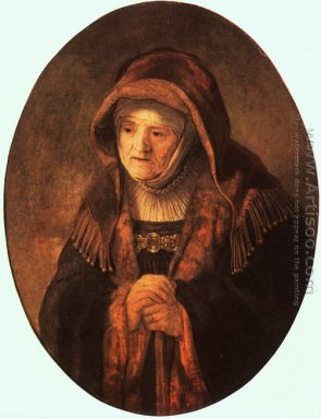 Rembrandt\'s Mother 1639