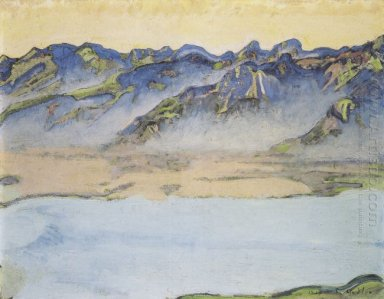 Rising Mist Over The Savoy Alps 1917