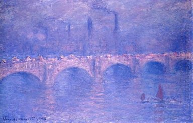 Waterloo Bridge Hazy Sunshine 1903