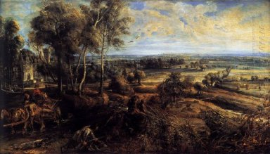 An Autumn Landscape with a View of Het Steen c. 1635