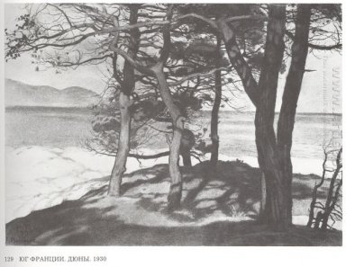 South Of France Dunes 1930